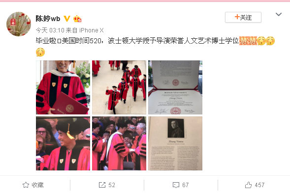 Zhang Yimou's Ph.D. Physician Who Has Ph.D.