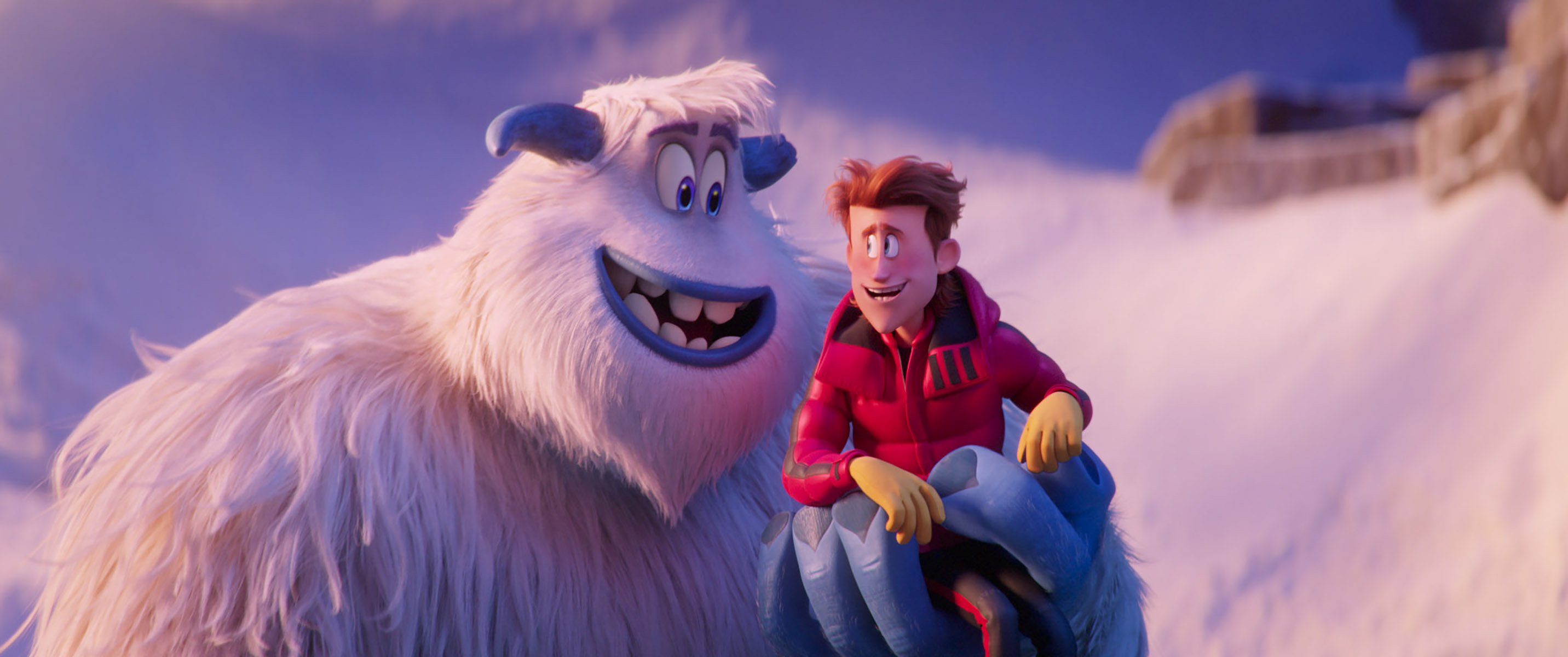 Snow monster adventure' reveals' apples and oranges' trailer growler 'snowflake talk' wants to laugh