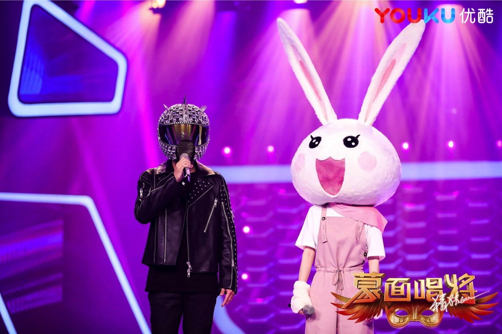 """masked singing will guess"" youku unlock real-time barrage mode ""crazy spider crazy"" strong franchise."