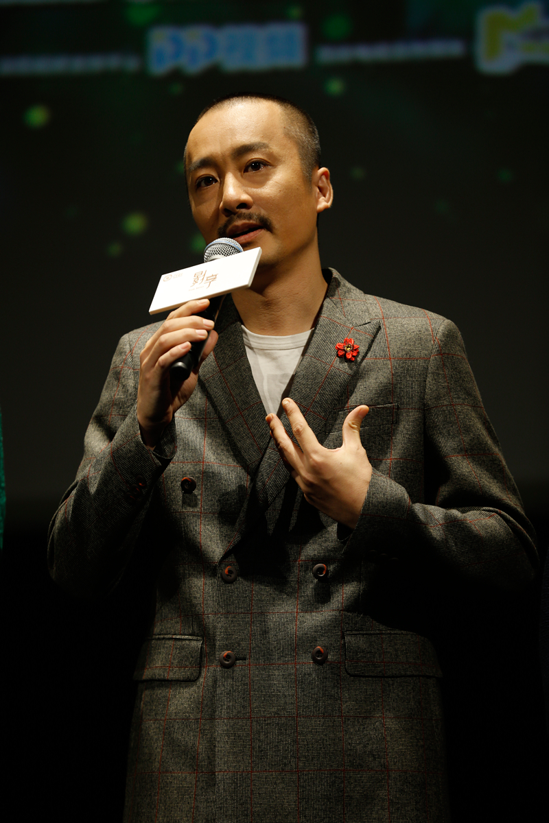 Days of sunshine' opens with lead actor wu chao attracting millions