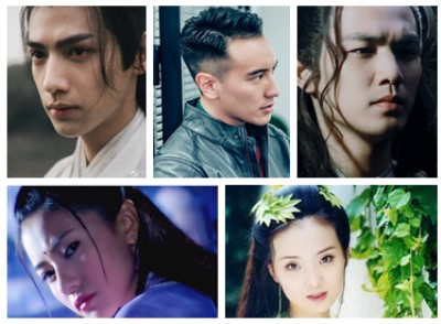 Wallace chung sunny luo yun xi gao yuanyuan' they are also very evil and make people love and hate