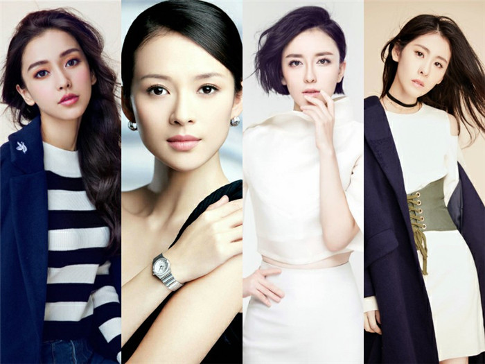 Angelababy Zhang Ziyi Jiarong Lv Diamond Zhang They are well-known entertainment industry to join Wang