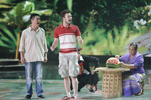 Yegor in' charming china city 'to play a ukrainian boy in the city of dehong