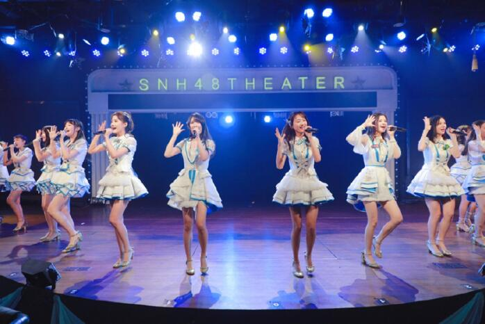 Ju Jingyi return to SNH48 theater performance and the original lineup N team shared the past