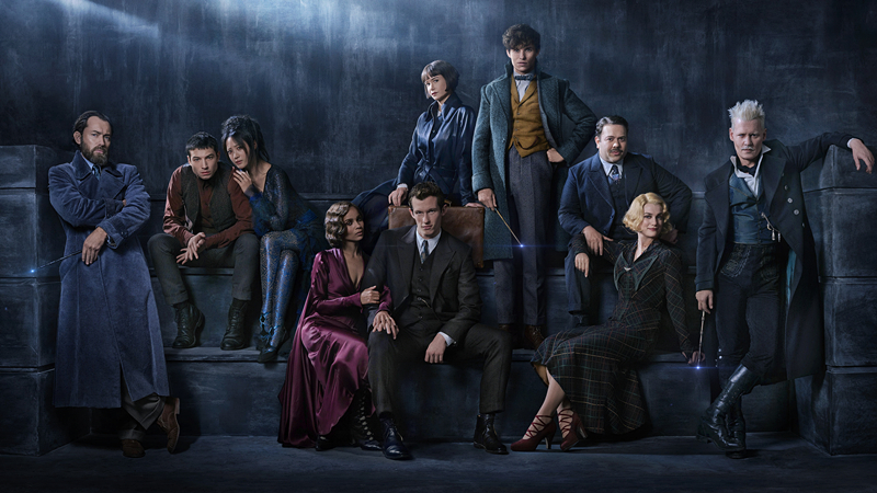 Fantastic beasts: the crimes of grindelwald,' transformed into the 'hotsearch king,' and even the coat was touching.