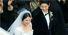 Song Joong-ki Song Hye-kyo wedding, there are 10,000 crit crit for single dogs