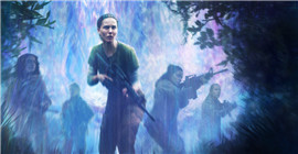 The Internet has been linked to the April 13 release of the horror film 'Annihilation'
