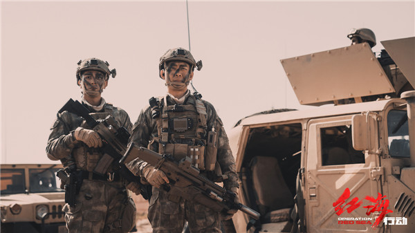 OPERATION RED SEA' Jiang Du Battlefield Diary secretly capture the mentality