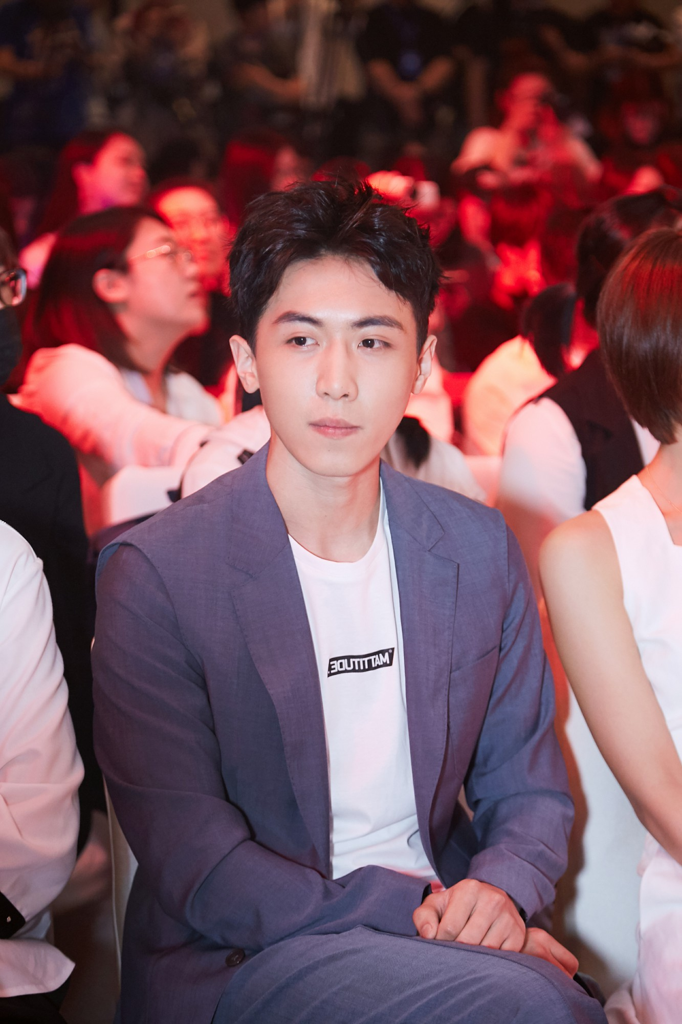 Song Dance'' boot conference Zhang Song's handsome appearance is highly anticipated