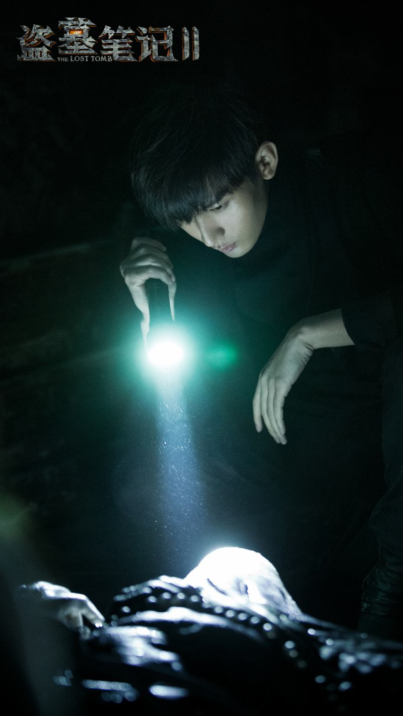 The Tomb Notes' second quarter mysterious attack Cheng Yi (actor) advance training for the role of weight loss 15 pounds