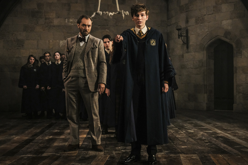 Fantastic beasts: the crimes of grindelwald' reveals what the 'after a long time' version of beasts might look like as it tells old friends to recreate a magical feast with new animals.
