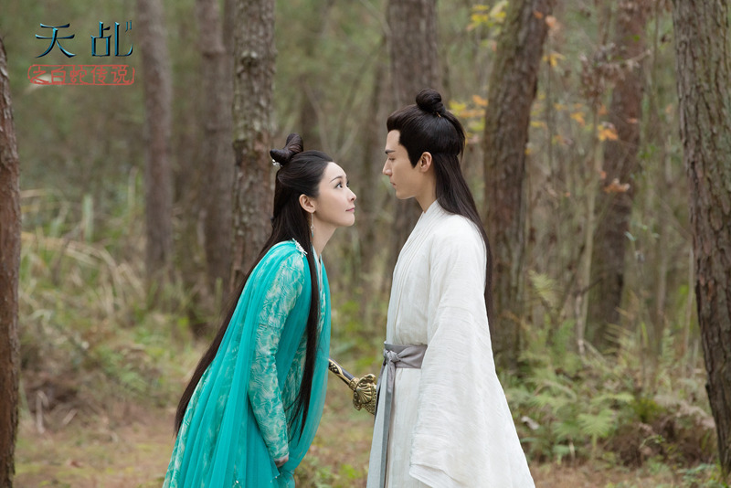 Man Li, During the day the legend of white snake', performed the most righteous anger of xiaoqing.